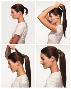 IMAGE #2 ponytail hair extensions EuroCollection Hair