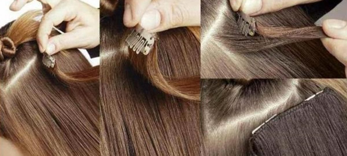 How To Apply Clip In Hair Extensions In Short Thin Hair For Beginners