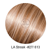 LA Streak Color #27 and #613 Hair extensions