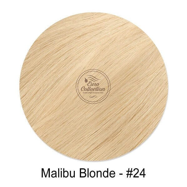 Malibu Blonde color #24 hair extension