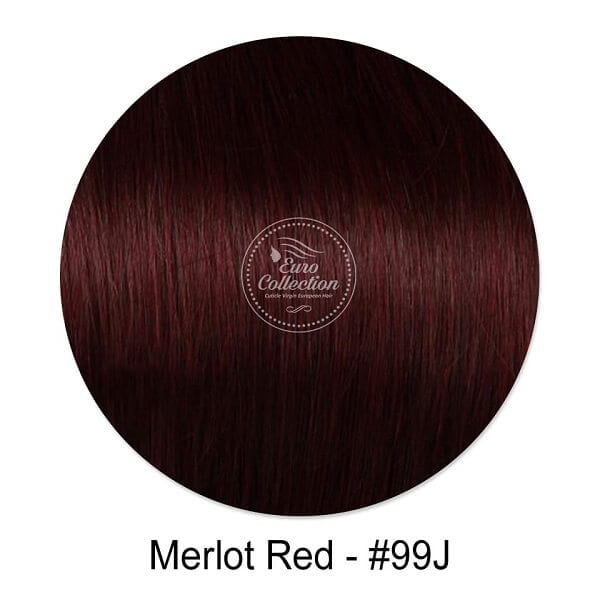 Merlot Red #99J Hair Extension color