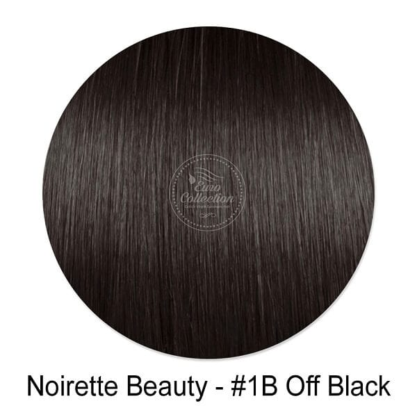 Noirette Beauty #1B Off Black Hair Extension Color