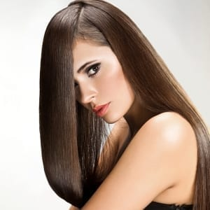 Euro collection Tuscany brown remy hair matches Color 6 Chestnut Brown Clip In Hair Extensions