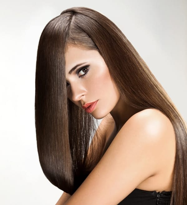 Euro Collection Color 6 Chestnut Brown Clip In Hair Extensions