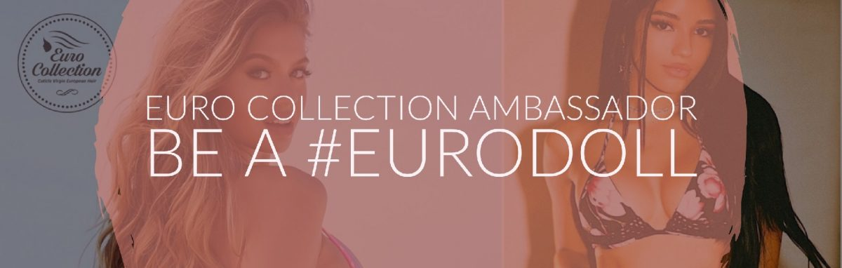 Euro Collection Hair Brand Ambassador sofia jamora @sofiajamora and @yoventura Yovanna Ventura