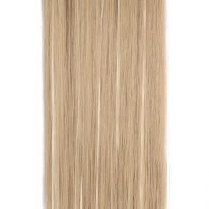 Euro Collection Straight Full Head Synthetic Hair Extensions Clip-In Clip-on in color 27 and 613 highlight 100{36e649cd2213f9c5bec6c8d5237ebca41fba04111c1d2c771eebf5d7d020db7b} Korea and Japanese High Quality Synthetic Heat-Resisting Fiber